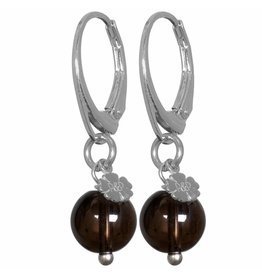 Pimps and Pearls EarRing Rocks 34 Smokey Kwarts