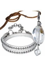 Pimps and Pearls Shine Together Set Special 01 White Gold Bergkristal
