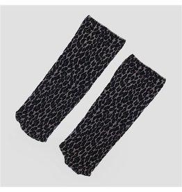 PiNNED by K Socks Leopard Grey