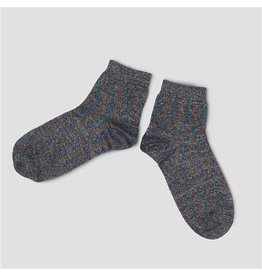 PiNNED by K Socks Multi Blue