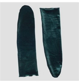 PiNNED by K Socks Velvet Green