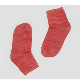 PiNNED by K Socks Stripe Glitter Multi Red