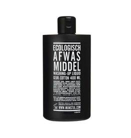 Mijn Stijl Ecologisch afwasmiddel - Cotton 400 ml - Zwarte fles