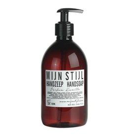 Mijn Stijl Handzeep parfum Kamille 500 ml (bruine fles)