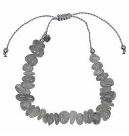 Pimps and Pearls Fine Rocks Pull Bracelet 02 Labradorite