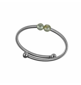 Pimps and Pearls Ring Flex 07 Peridot