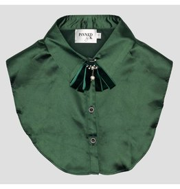 PiNNED by K Kraagje Satin Green Broche