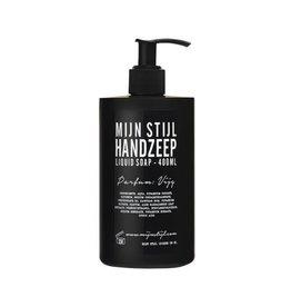 Mijn Stijl Handzeep parfum Vijg 400 ml (zwart)