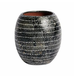 Muubs Vaas / Vase Ocean - Terracotta Black