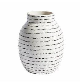 Muubs Vaas / Vase Ocean - Terracotta White