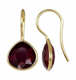 Pimps and Pearls Earring Riva Fine Gems 03 Ruby Gold