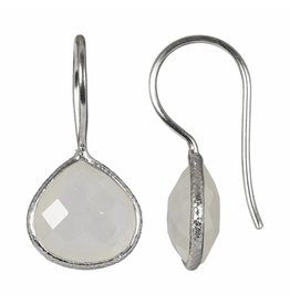 Pimps and Pearls Earring Riva Fine Gems 05 Moonstone Silver