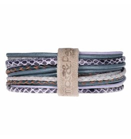 Pimps and Pearls Moesss Superior Armband 151 Lila Grey