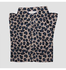 PiNNED by K Kraagje Leopard Blue  L/XL