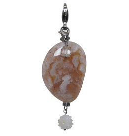 Pimps and Pearls Moesss2Be Style F47 Flower Agate