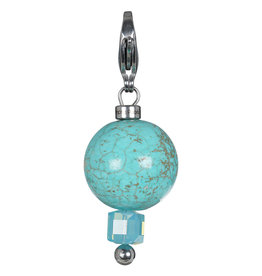 Pimps and Pearls Moesss2Be Gotcha 80 Turquoise Magnasite