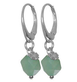 Pimps and Pearls Earring Rocks 37 Aventurine Pretty