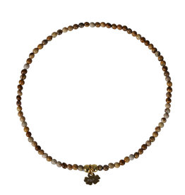 Pimps and Pearls Mini Rocks Bracelet 06 Jaspis Picasso Fine