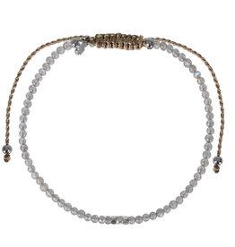 Pimps and Pearls Mini Rocks Pull Bracelet 10 Moonstone Fine