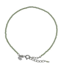 Pimps and Pearls Fine Pretty Gems Bracelet Silver 12 Peridot