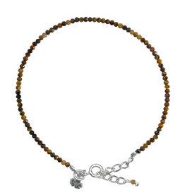Pimps and Pearls Fine Pretty Gems Bracelet Silver 27 Tiger Eye