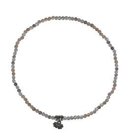 Pimps and Pearls Fine Rocks Bracelet Facet 08 Moonstone