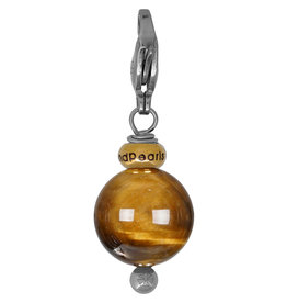 Pimps and Pearls Pretty Gems 22 Tiger Eye Gold