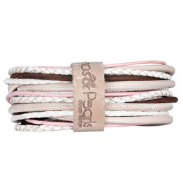 Pimps and Pearls Moesss Superior Armband 156 Soft White Cream