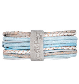 Pimps and Pearls Moesss Superior Armband 165 Blue Sky Light