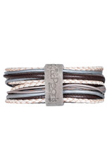 Pimps and Pearls Moesss Superior Armband 170 White Choco
