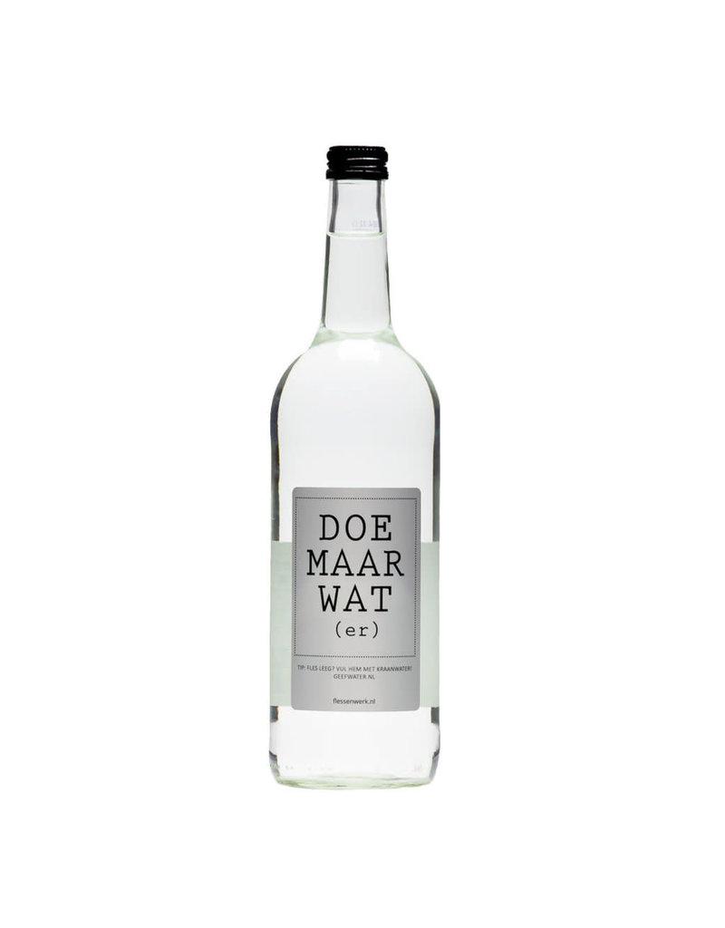 Flessenwerk Doe maar wat(er) water