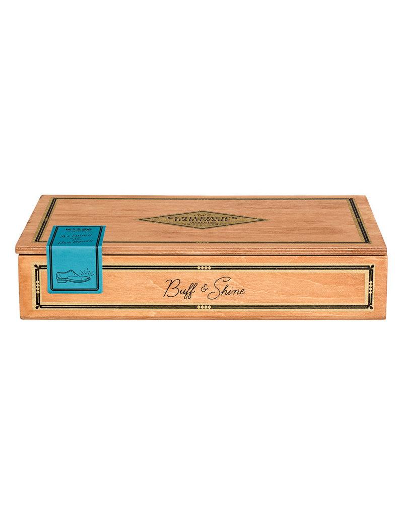 Gentlemen's Hardware Schoenpoets set in sigarenkist