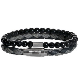 Pimps and Pearls My Hero 03 Black Grey Onyx - Men
