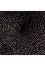 Muubs Vloerkussen - Floor Cushion Gajih - Black