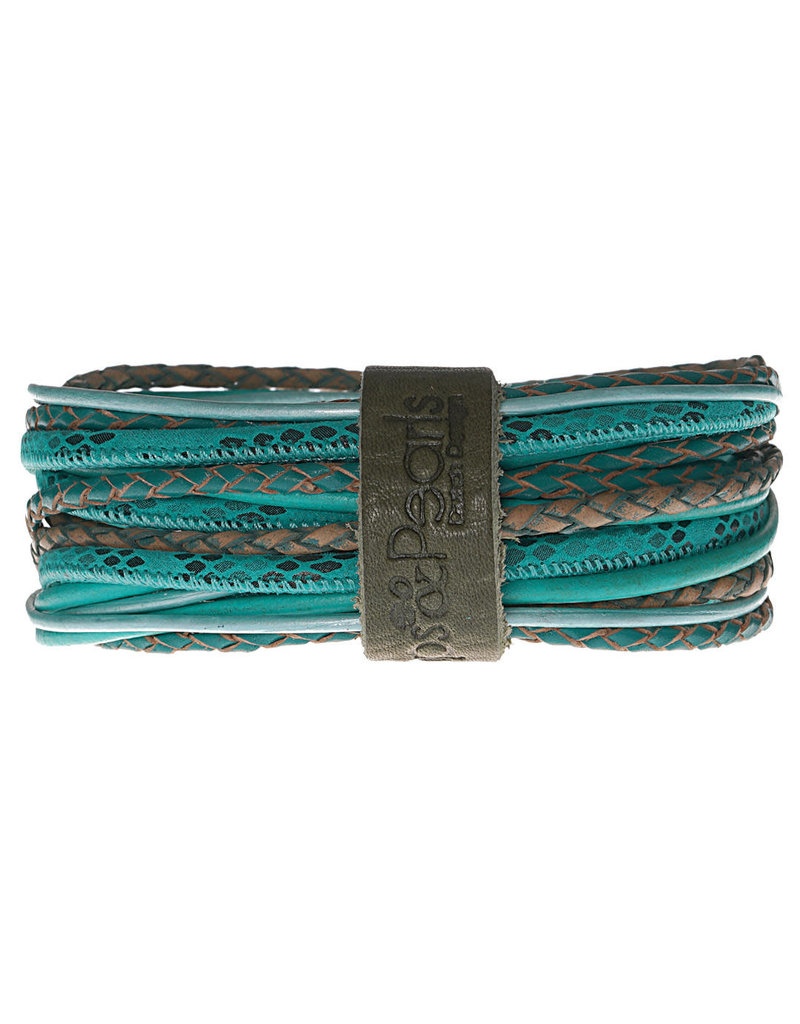 Pimps and Pearls Moesss Superior Armband 174 Green Aventurine
