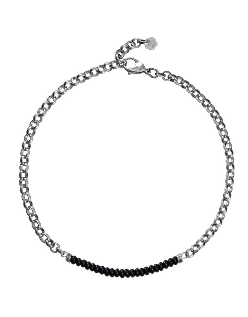 Pimps and Pearls Moesss2 Choker Pret a Porter 16 Onyx