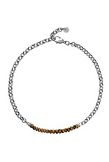 Pimps and Pearls Moesss2 Choker Pret a Porter 22 Tiger Eye
