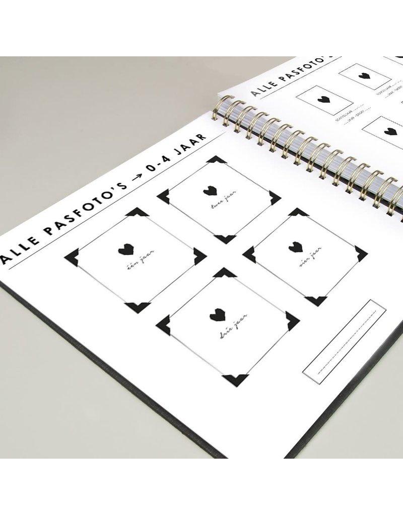 House of Products Schoolfotoboek - Grijs-Linnen