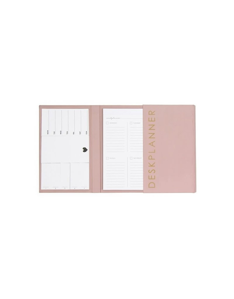House of Products Deskplanner - Pink