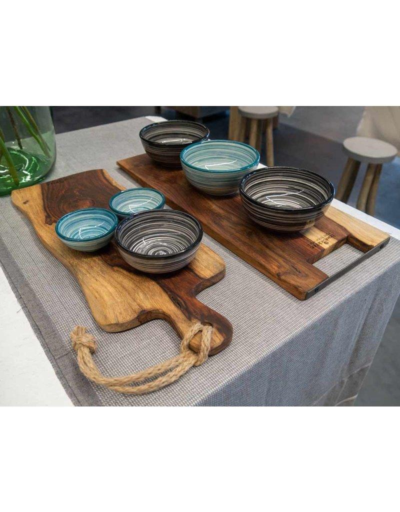 Bowls and Dishes Pure Rose Wood Serveerplank met handvat 69 cm - Rustiek