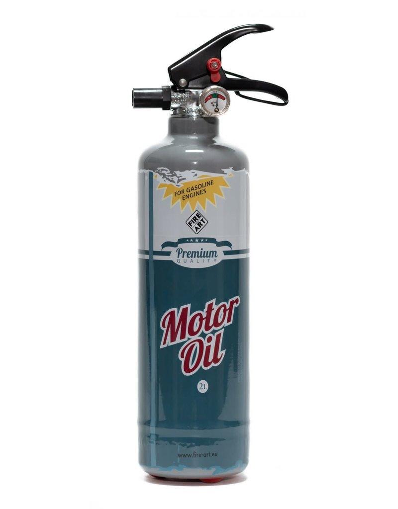 Fire-Art Designblusser - Motor Oil