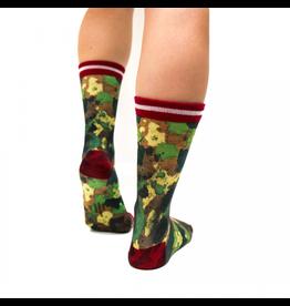 Sock my Feet Sock My Camouflage- Woman