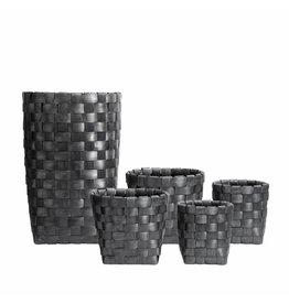 Muubs Mand - Basket Round Black