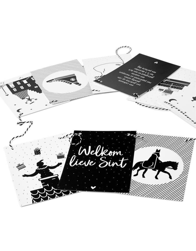 Zoedt Sinterklaas Woonslinger met 9 kaarten