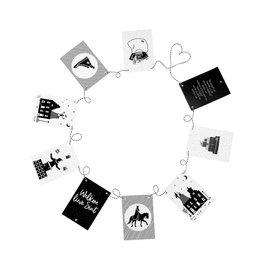 Zoedt Sinterklaas slinger met 9 kaarten