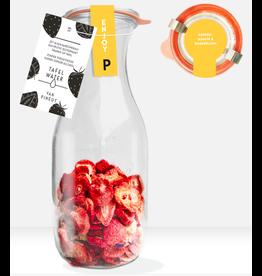 Pineut Fruitig tafelwater - ENJOY Aardbei, Jasmijn, Koren