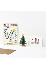 The Pop Out Card Company Pop Out Card Christmas - Hout -
