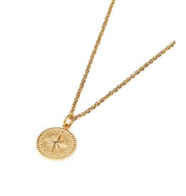 Label Kiki North Star Necklace Gold