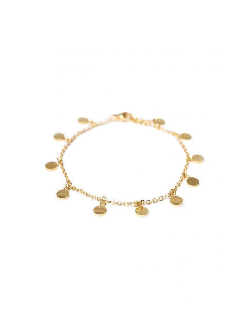 Label Kiki Mini Label Bracelet Gold