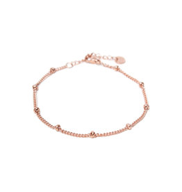 Label Kiki Dot Chain Bracelet Rosegold